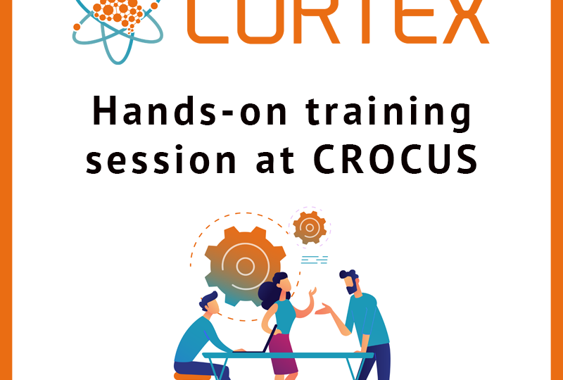 Hands on training session at CROCUS